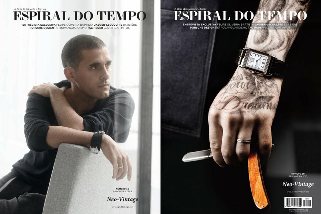 O número 50 da Espiral do Tempo (edição primavera 2015) está disponível com duas capas.