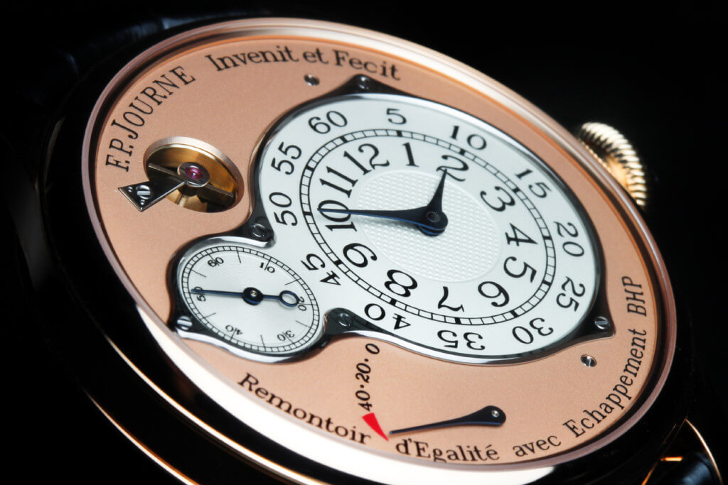 F.P. Journe Invenit et Fecit Chronomètre Optimum © Espiral do Tempo Studio