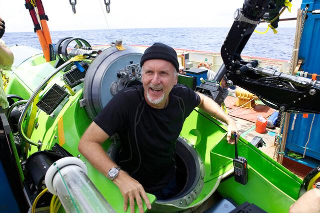Pioneira: James Cameron