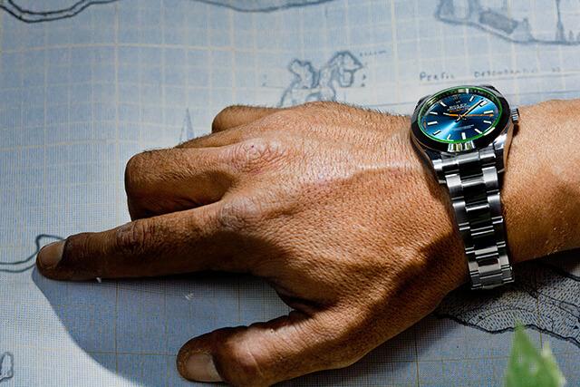 Pioneira: Rolex Milgauss