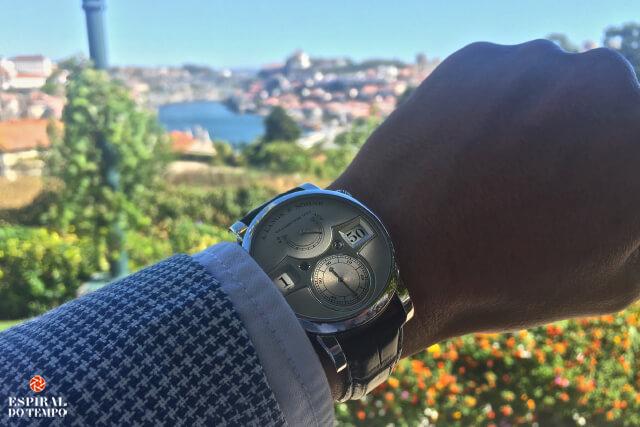 A. Lange & Söhne no Porto