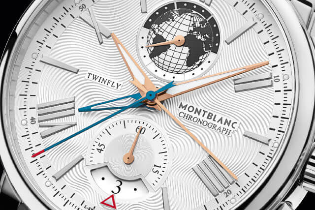 Ponteiros: Montblanc 4810 TwinFly Chronograph 110 Years Edition