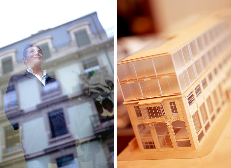 O atelier de F.P.Journe situa-se na Rue de L'Arquebuse, em Genebra. © Nuno Correia/ Espiral do Tempo