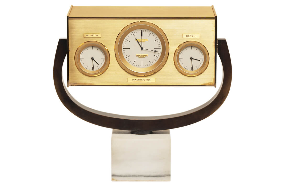 John F. Kennedy clock (1963) - (c) on loan from the John F. Kennedy Presidential Library and Museum