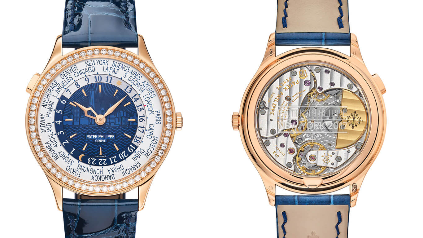 Ladies' World Time Ref. 7130 New York 2017 Special Edition