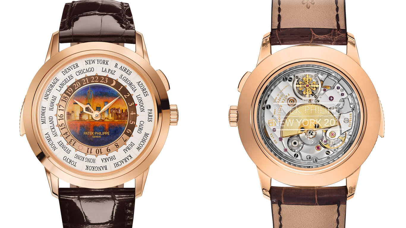 Patek Philippe World Time Minute Repeater Ref. 5531R New York 2017 Special Edition. © Patek Philippe