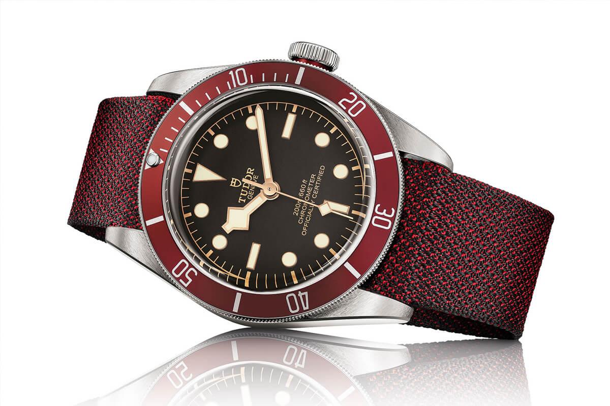 Tudor Black Bay Red.