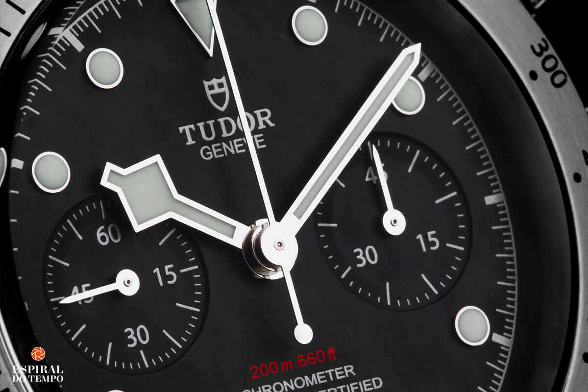 Tudor Black Bay Chrono entrada