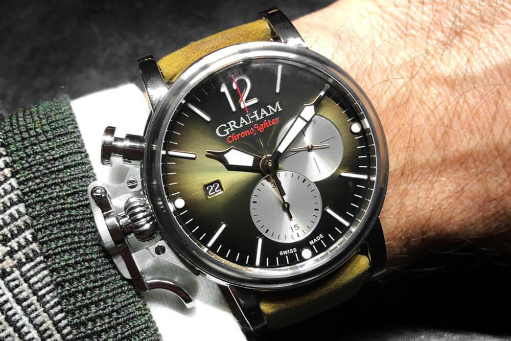 Graham Chronofighter Grand Vintage
