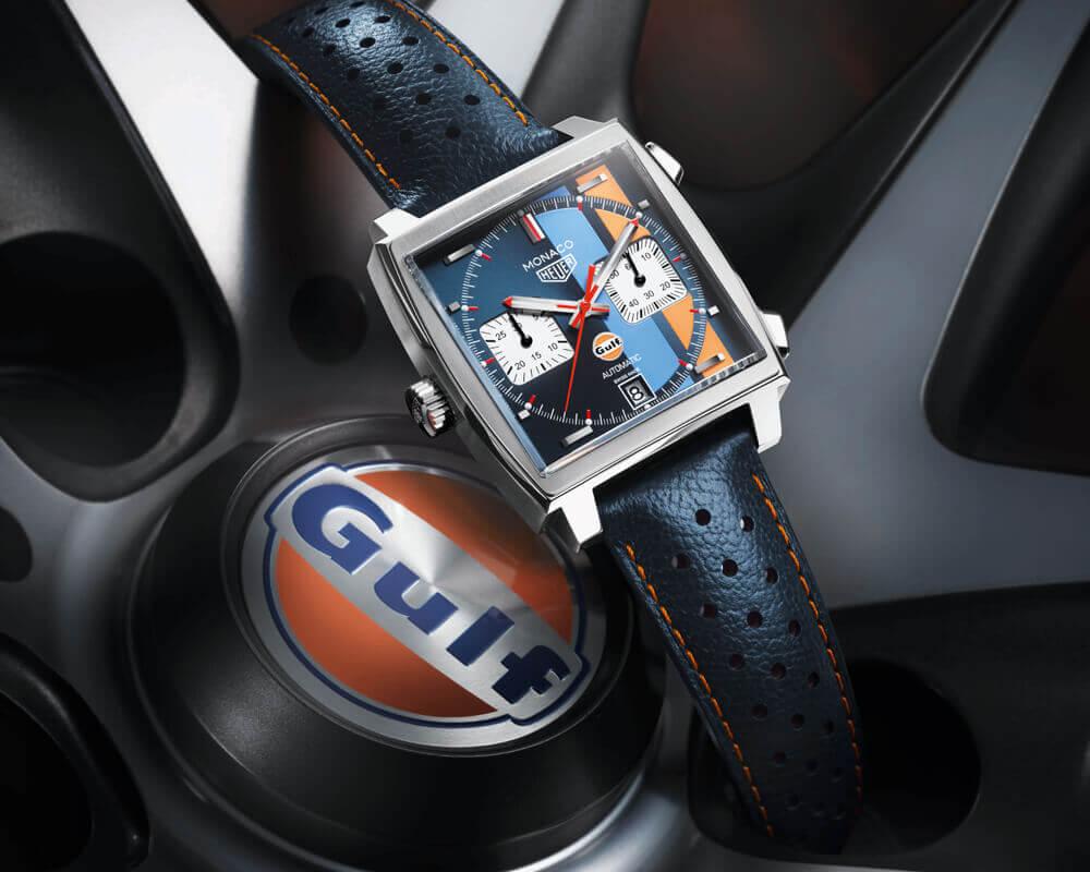 TAG Heuer Monaco Gulf Edition.
