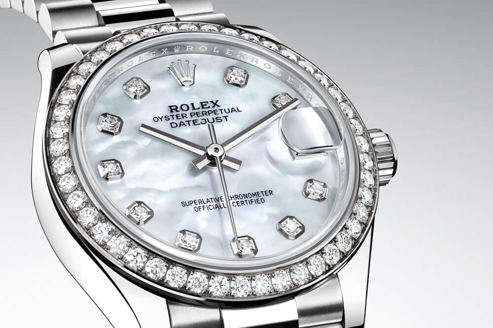 Rolex Oyster Perpetual 31 | Ref. 278289RBR | Corda automática | Ouro branco | Ø 31 mm | € 37.100