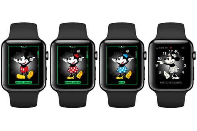 Apple Watch Mickey Mouse @ Apple