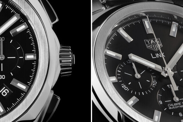 TAG Heuer Link Calibre 17 Chronograph © Paulo Pires / Espiral do Tempo