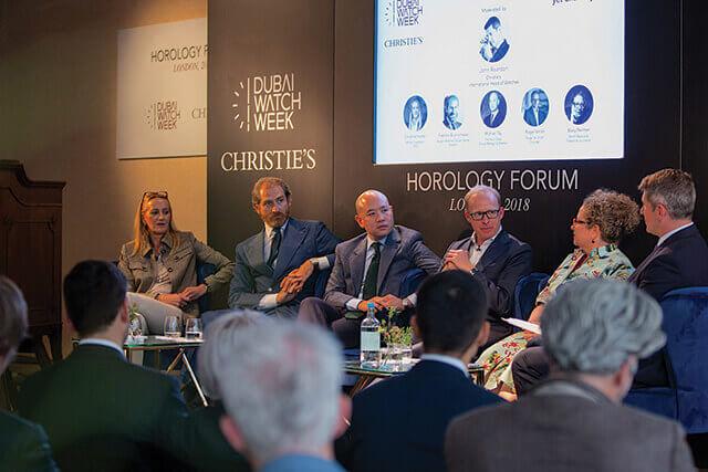 Debate Horology Forum organizado pela Dubai Watch Week © Horology Forum