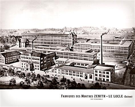 A histórica manufatura Zenith, sedeada em Le Locle @ Zenith