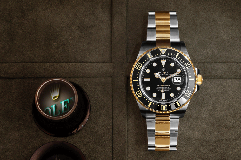 Rolex Oyster Perpetual Sea-Dweller Oystersteel and Yellow Gold | © Paulo Pires/Espiral do Tempo