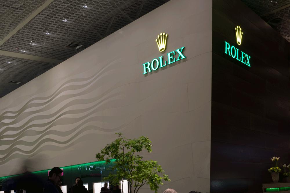 Stando Rolex na Baselworld 2019. © Paulo Pires/ Espiral do Tempo