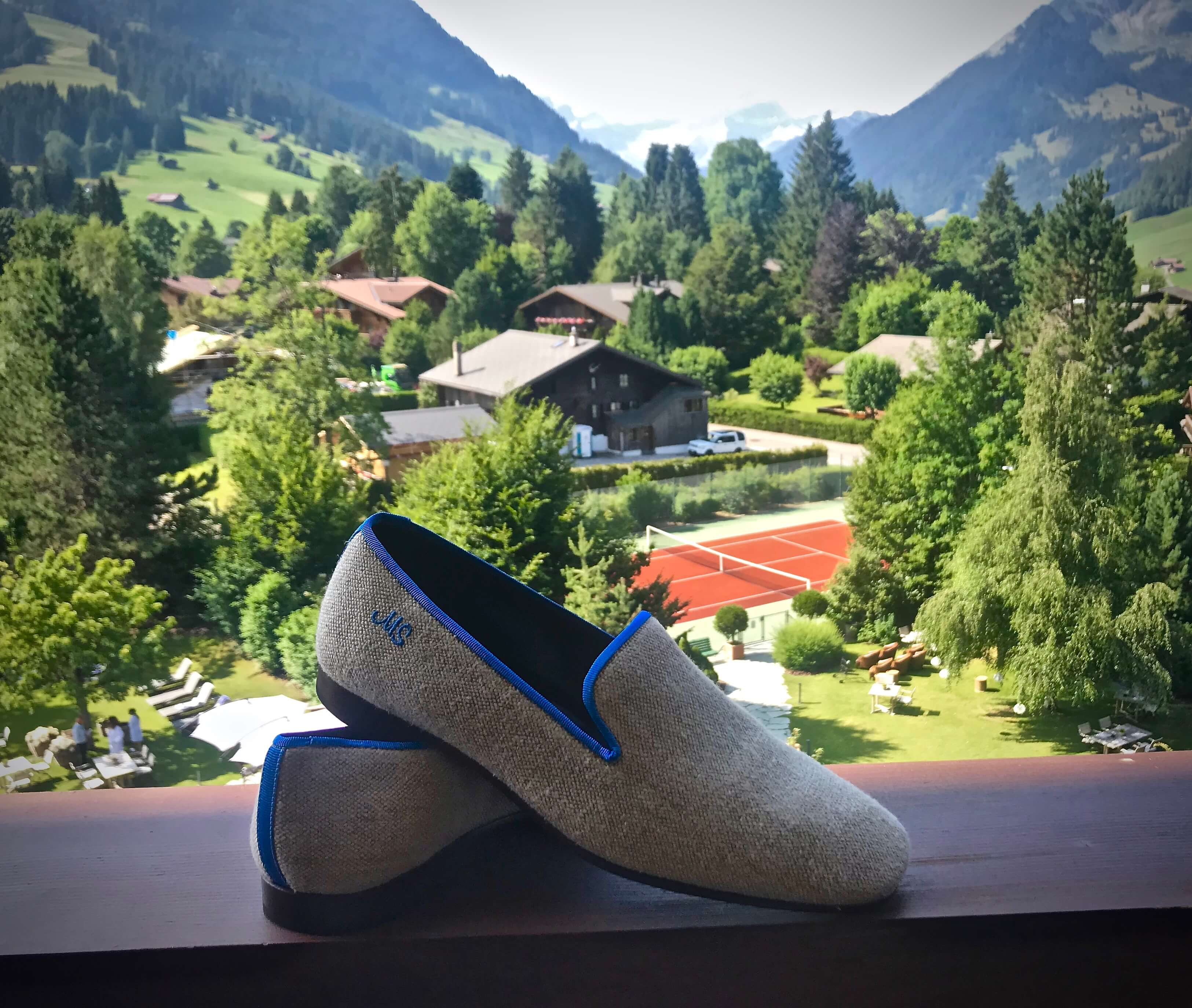 Mount Street Shoe Company em Gstaad © Miguel Seabra/Espiral do Tempo