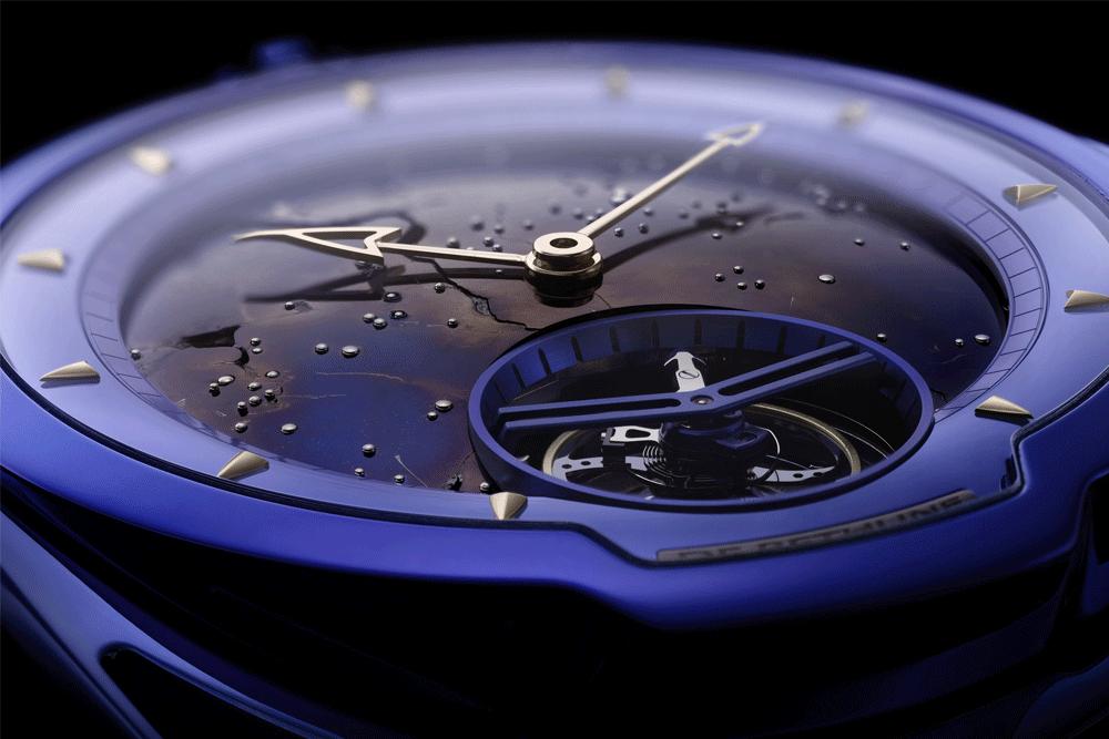 DB28 KIND OF BLUE TOURBILLON METEORITE  © De Bethune