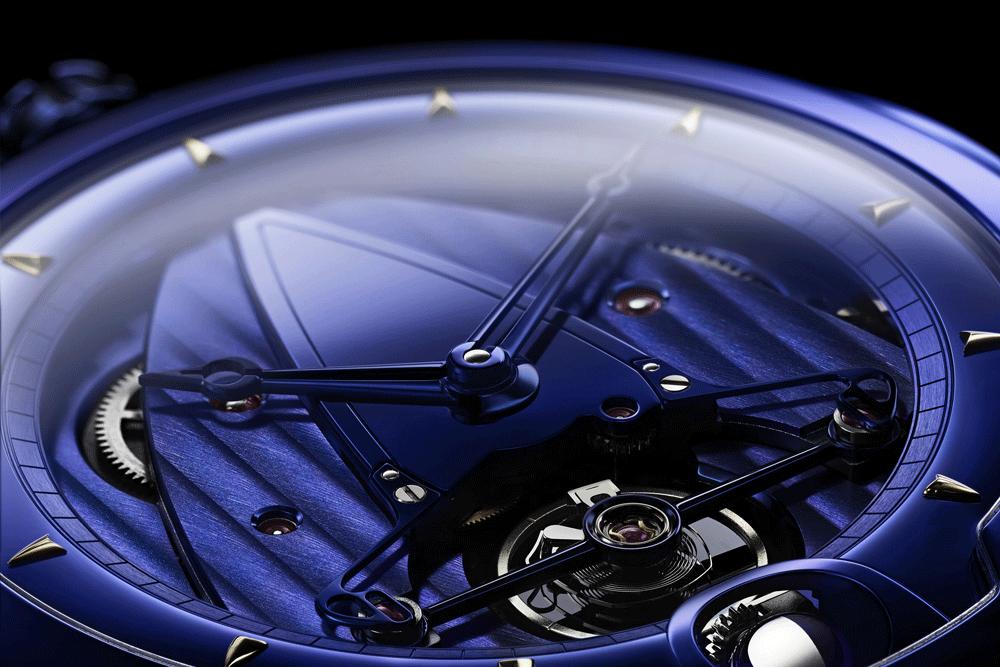 DB28 KIND OF BLUE  © De Bethune
