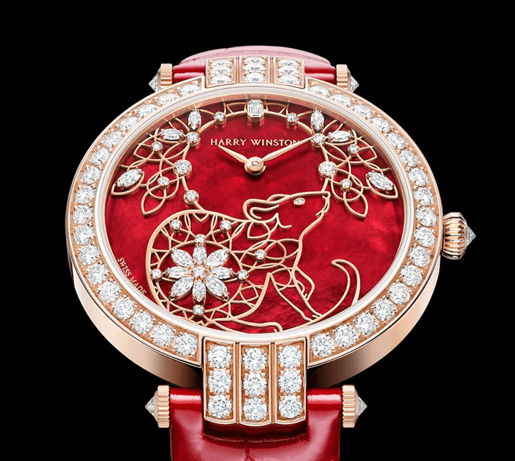 Harry Winston Premier Chinese New Year Automatic - Limitado a 8 exemplares © Harry Winston
