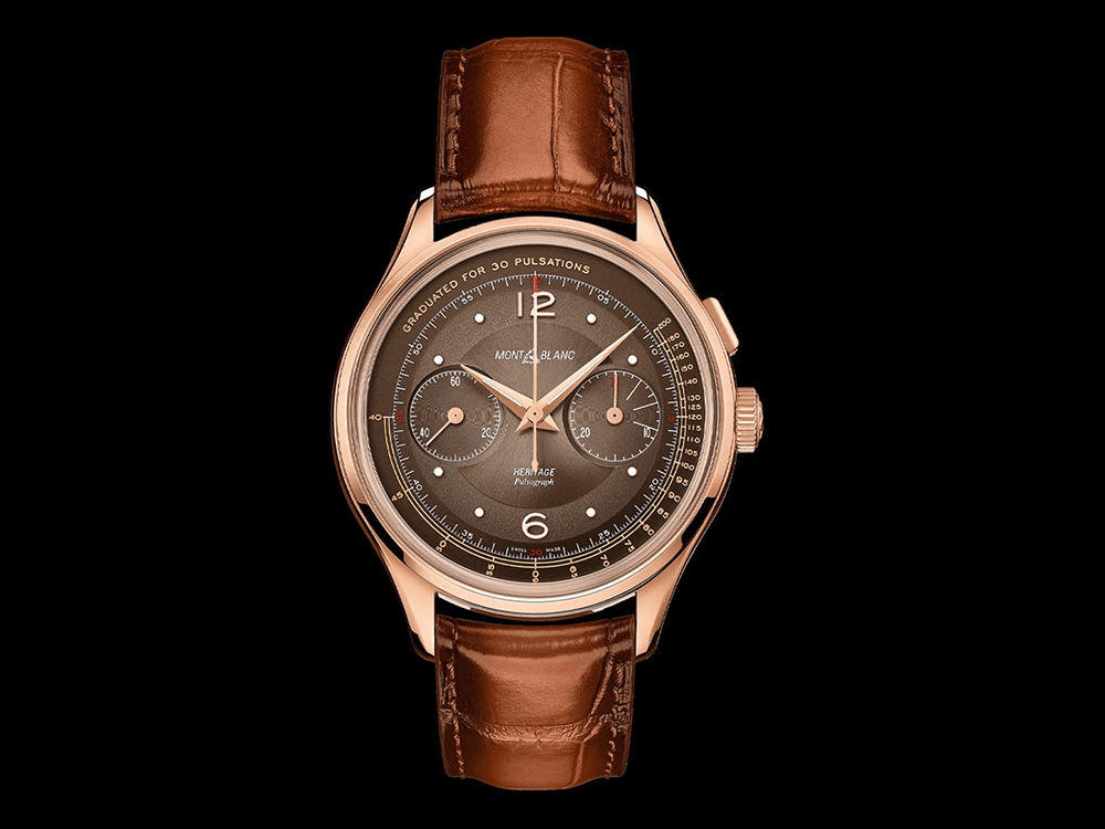 Montblanc Heritage Manufacture Pulsograph Limited Edition © Montblanc