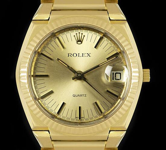 Rolex Beta 21 de design integrado © DR