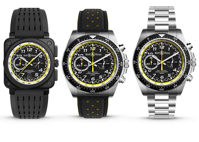 BR 03-94 R.S.20 e BR V3-94 R.S.20 (tem a opção de 2 braceletes) © Bell & Ross