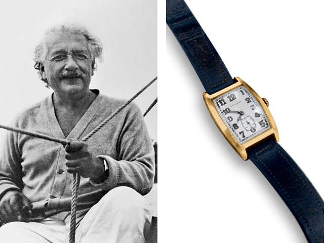 Albert Einstein, Longines