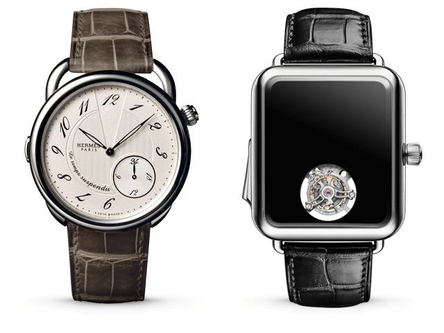 Arceau Le Temps Suspendu, Swiss Alp Watch Minute Repeater Concept Black