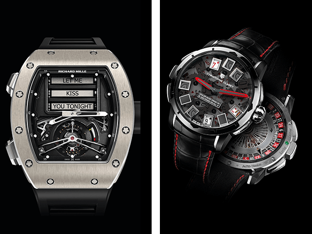 RM 69 Erotic Tourbillon, Blackjack Christophe Claret