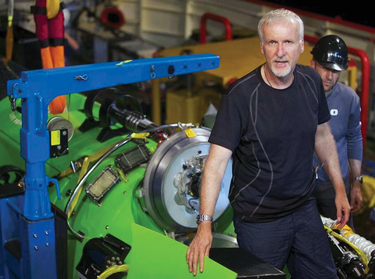 O realizador James Cameron desafiou os limites. © Mark Thiessen/AP