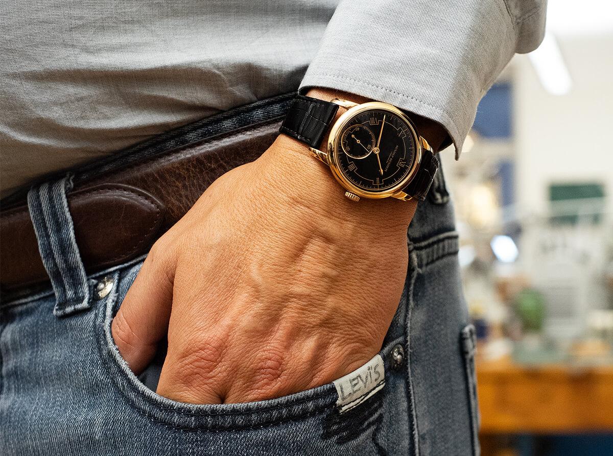 O Chronomètre Contemporain vencedor no Grand Prix d'Horlogerie de Genève. © Paulo Pires / Espiral do Tempo