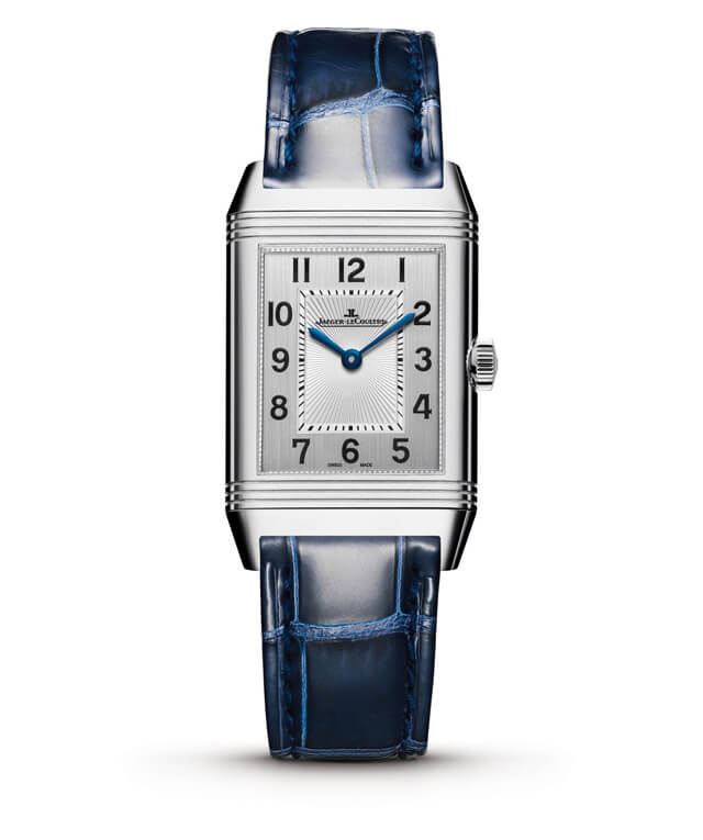 Jaeger-LeCoultre Reverso Classic Medium Duetto Ref. 2588422 | Corda manual | Aço | 40mm x 24mm © Jaeger-LeCoultre
