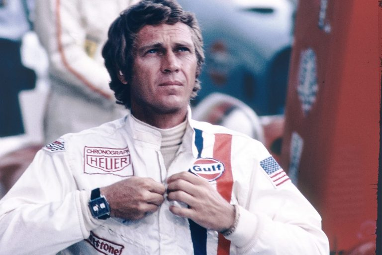 Steve McQueen e o TAG Heuer Monaco no filme le Mans