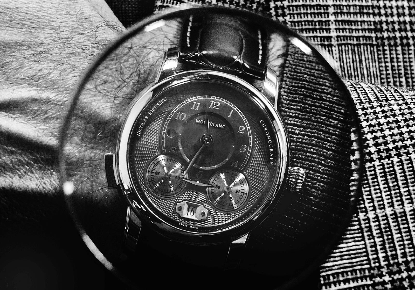 Montblanc | Star Legacy Nicolas Rieussec Chronograph Ref. 119954 | Corda Automática | Aço | Ø 44,8 mm | Relógio cedido por Montblanc © Paulo Pires / Espiral do Tempo