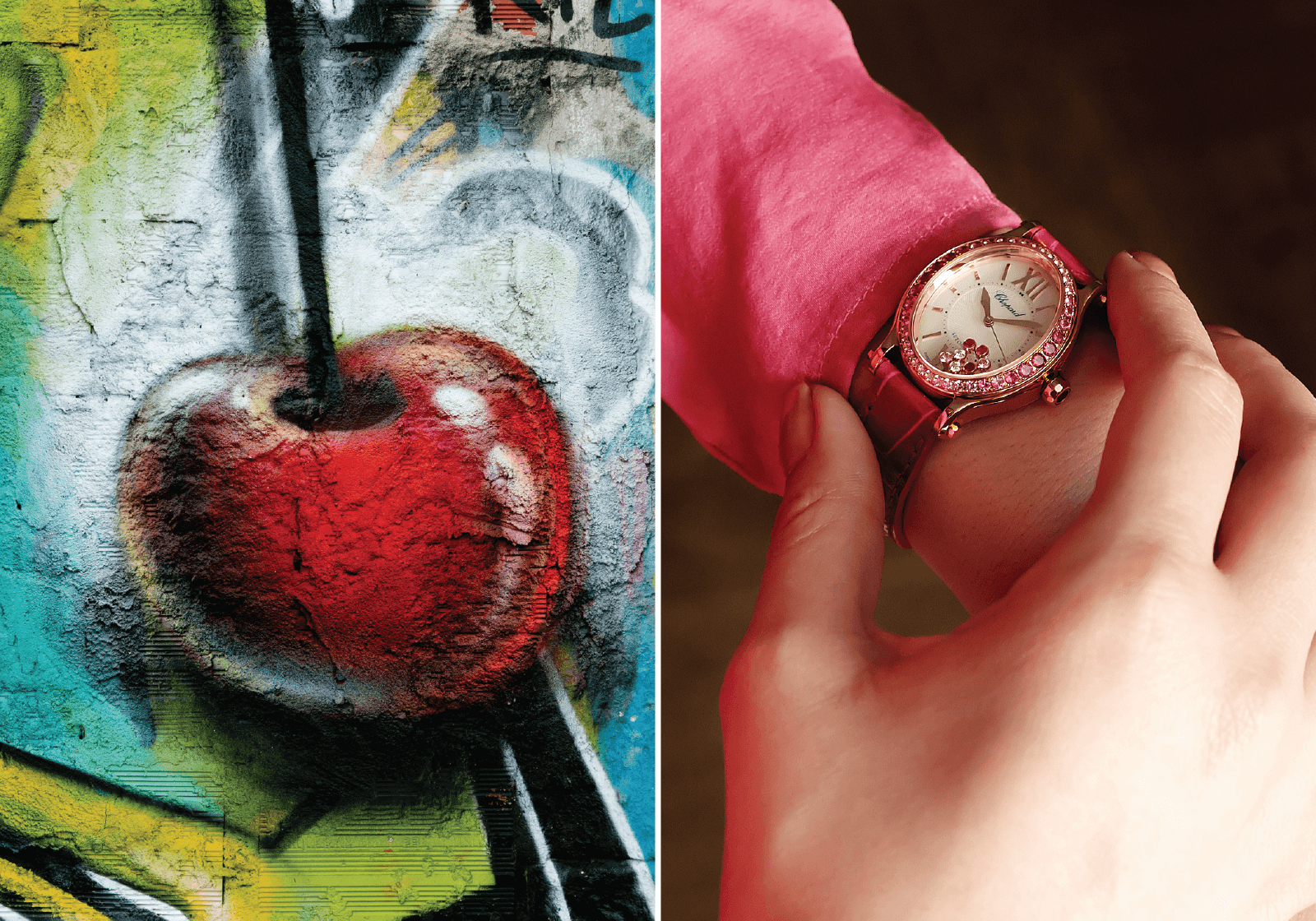 Chopard | Happy Sport Oval | Ref . 275362-5003 Corda automática | Ouro rosa | 31.31 x 29 mm | Relógio cedido por Torres Joalheiros © Paulo Pires / Espiral do Tempo