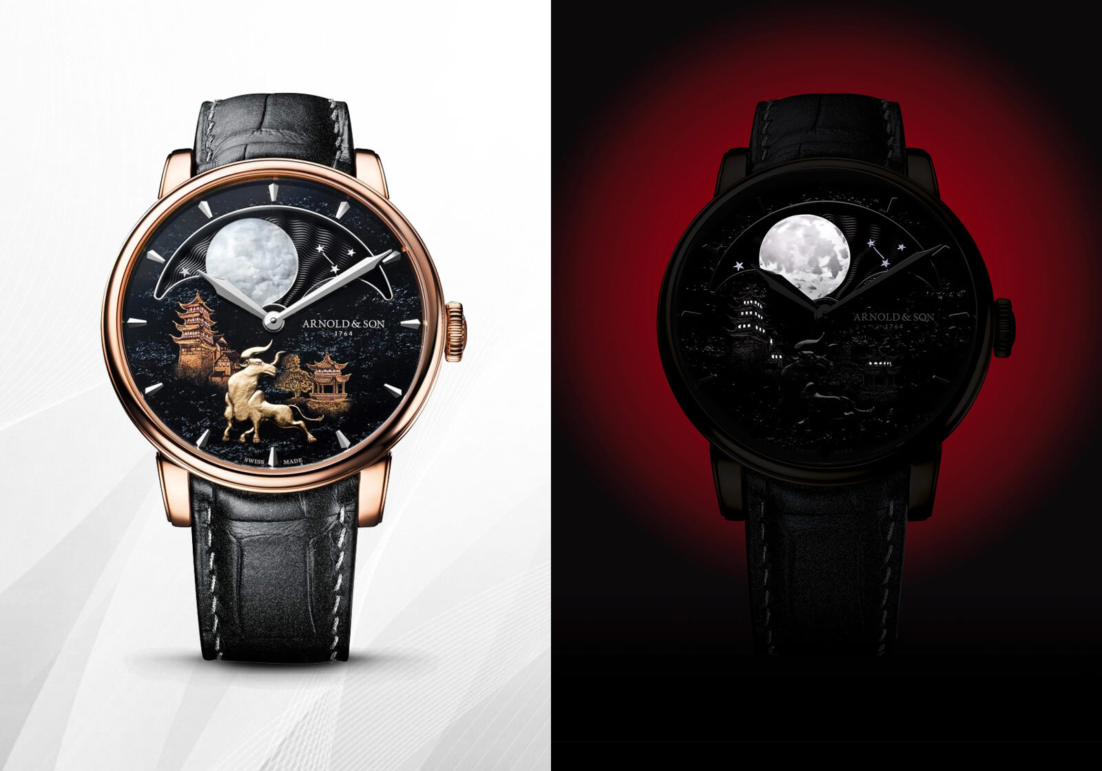 Arnold & Son Perpetual Moon 'Year of the Ox'