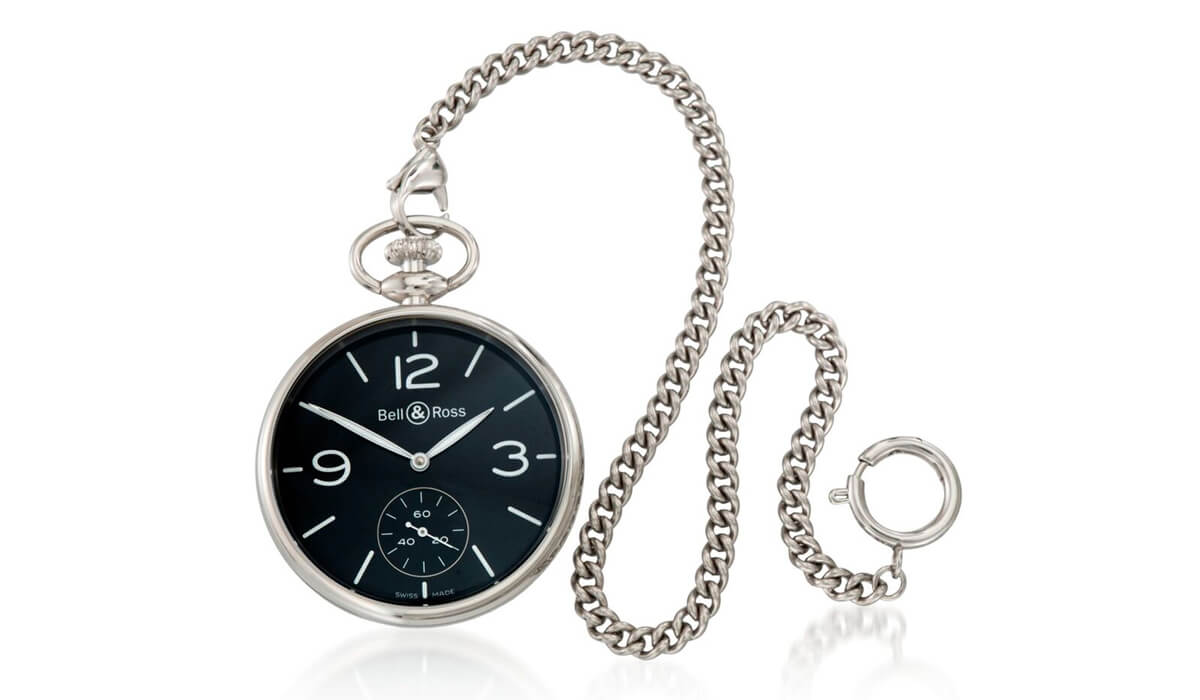 Bell & Ross PW1 Vintage Pocket Watch
