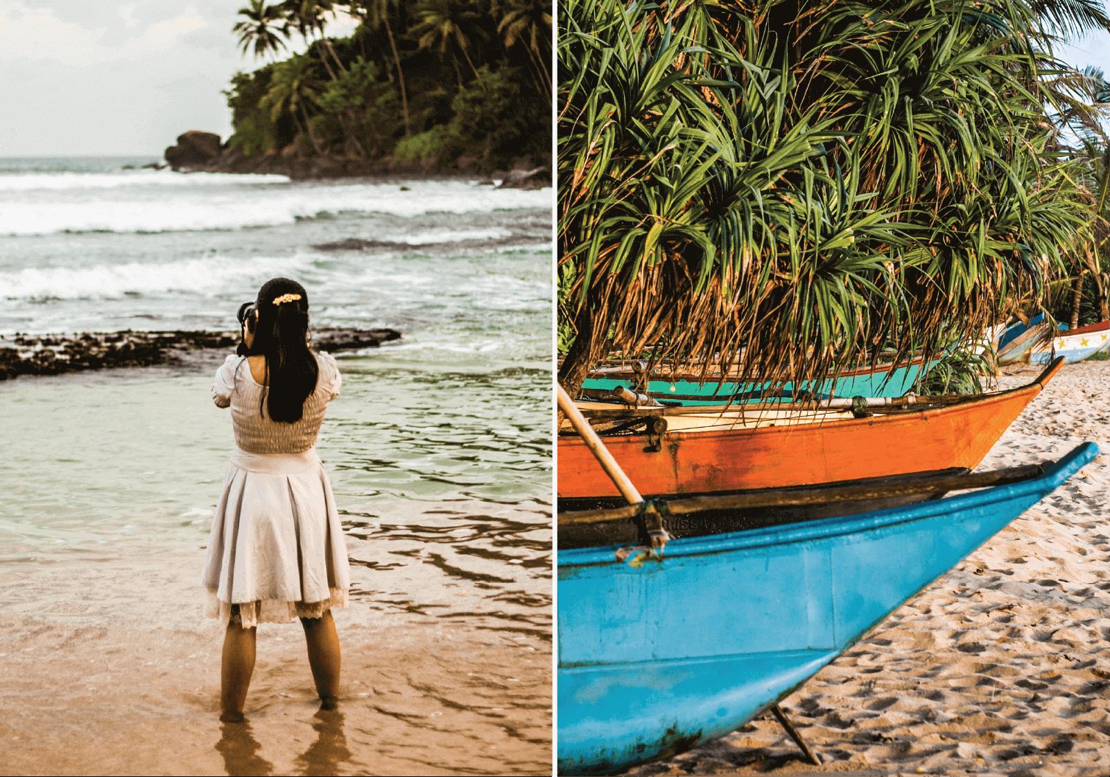 Memórias guardadas de Mirissa, no Sri Lanka, onde as cores e os pores do sol fazem deste, um local irremediavelmente inesquecível © Susana Gasalho