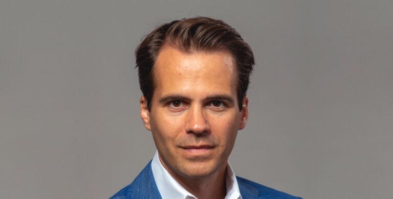 Imagem de Laurent Lecamp, nomeado pela Montblanc, como o novo Managing Director, Watch Division