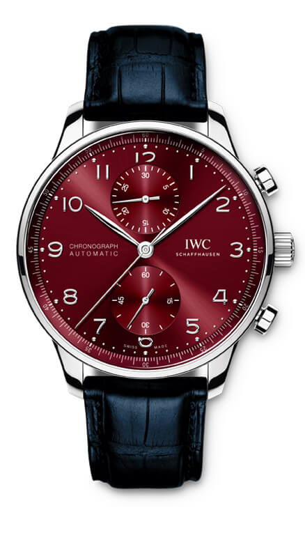 IWC Portugieser Chronograph visto de frente