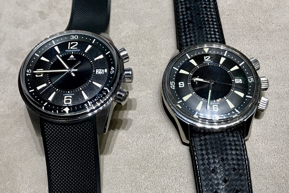 O Polaris Memovox de 2018 e o original Memovox Polaris de 1968