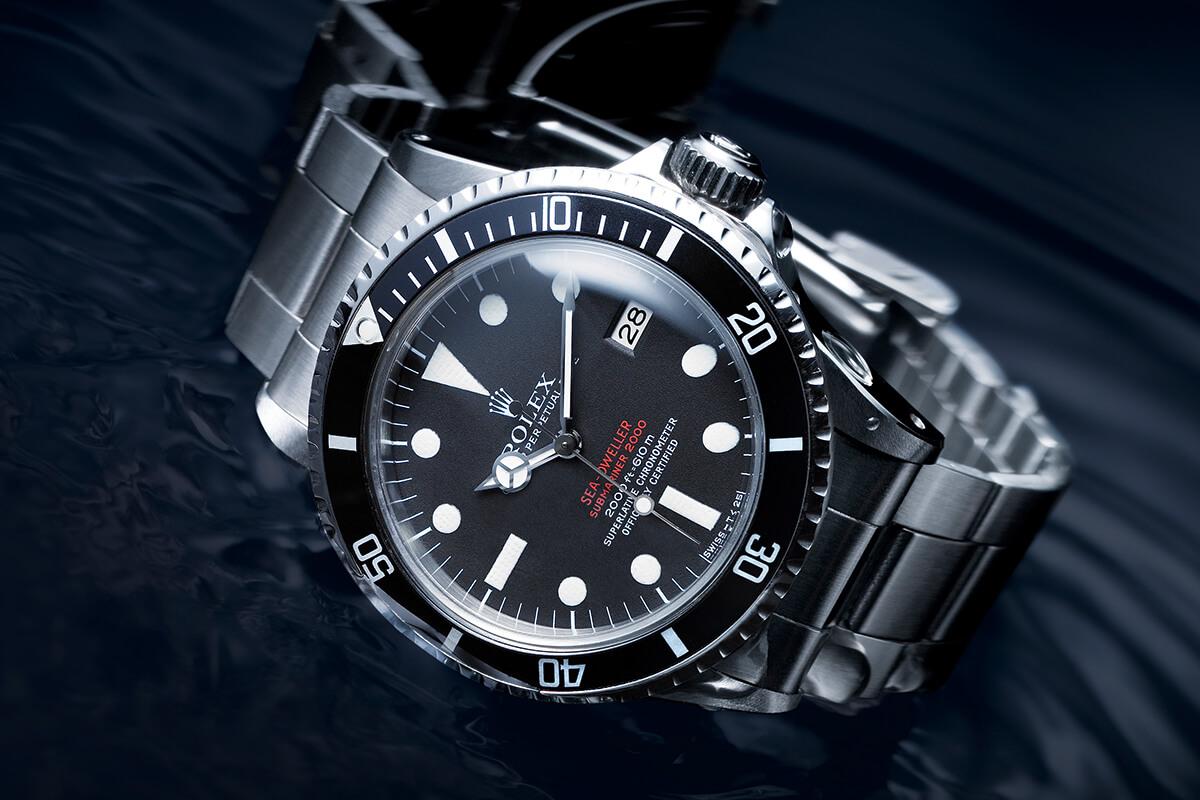 O primeiro Rolex Sea-Dweller de 1967.