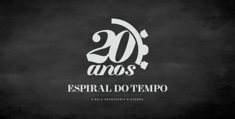 Logotipo 20 anos Espiral do Tempo