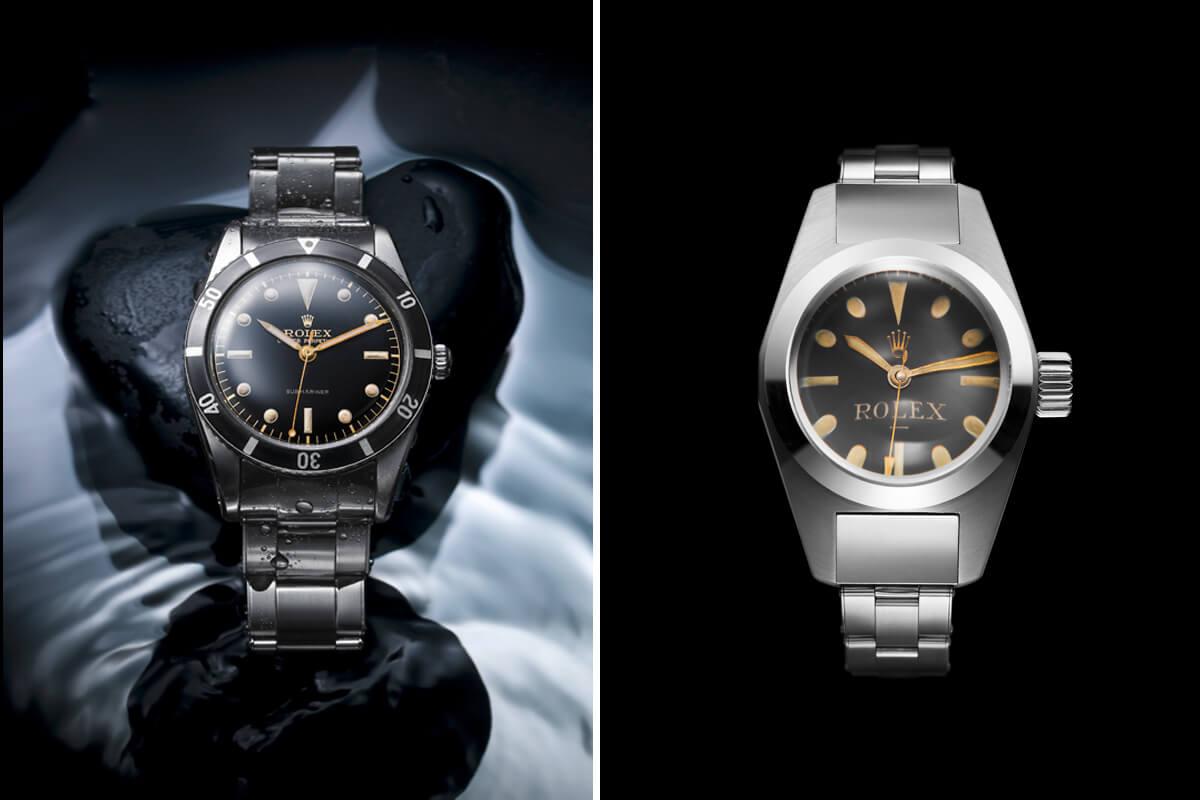 Rolex Submariner, Primeiro relógio de pulso estanque até aos 100 metros de profundidade. E o relógio experimental Deep Sea Special.