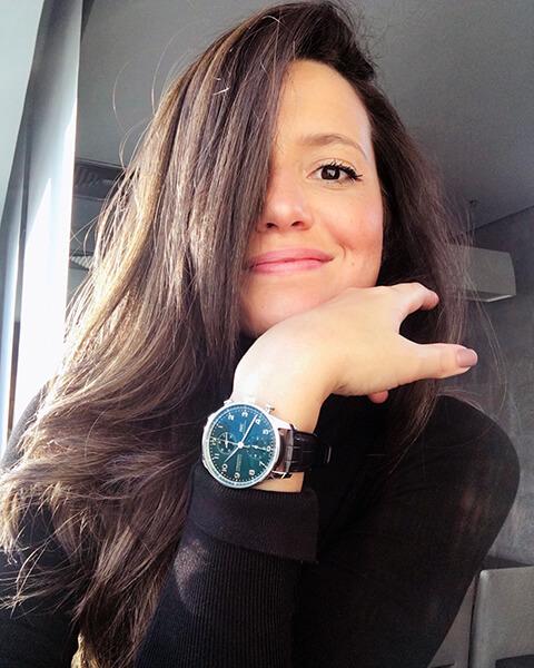 Deborah Maldonado, conhecida no Instagram por 'IWC Girl'