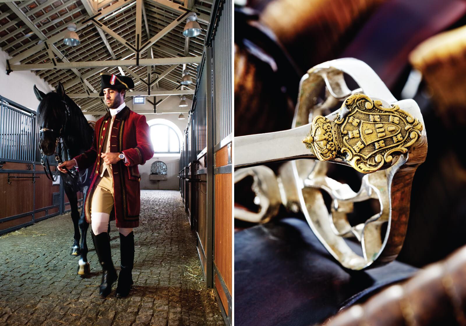 Jaeger-LeCoultre Master Grande Tradition Grande Complication Ref. Q5022480 Ouro rosa - Ø 45 mm, em fundo equestre envolvente   © Paulo Pires / Espiral do Tempo