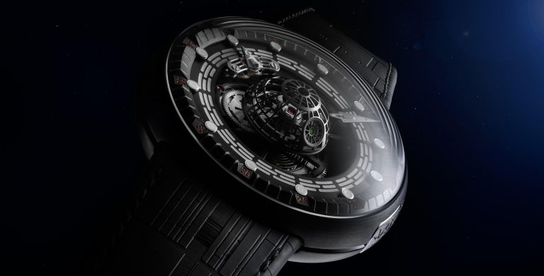 Death Star Tourbillon by Kross Studio