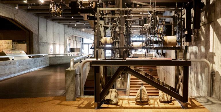 Interior do Musée international d'horlogerie, em La Chaux-de-Fonds
